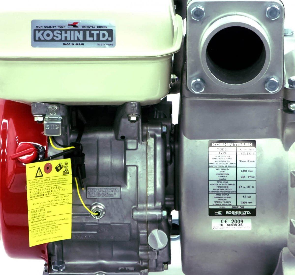 KTH-80X Abwasserpumpe 5